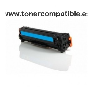 HP CE411A cyan Toner compatible 2.600 pg