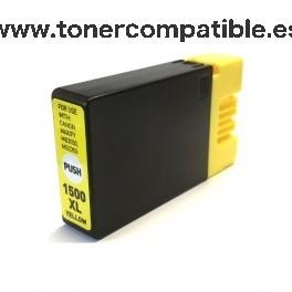 Tinta compatible Canon PGI1500XL amarillo 9195B001