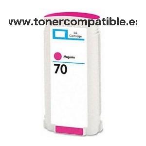 Cartucho tinta reciclado HP 70