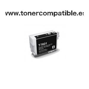 Tintas compatibles Epson T7601 / Tonercompatible.es
