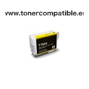 Cartucho tinta compatible Epson T7604