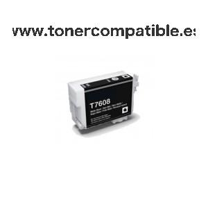 Tinta compatible T7608. Cartuchos tinta compatibles.