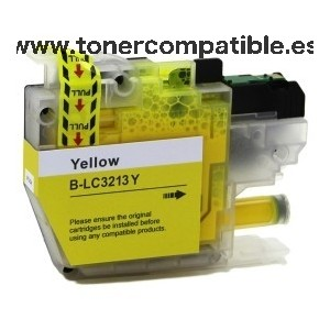 Compatibles Brother LC3213 / LC3211 Amarillo / Tinta compatible