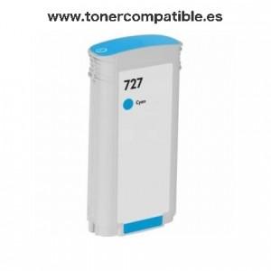 Tinta compatible barata HP 727 / Venta tintas compatibles