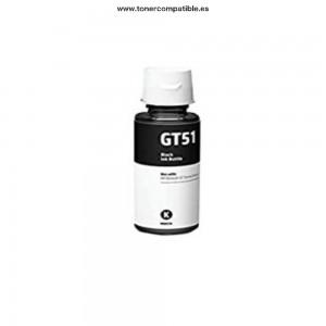Botella tintas compatibles HP GT51 Negro