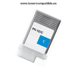 Tinta compatible Canon PFI107 Cyan / Comprar tinta compatible