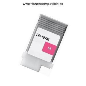 Tinta Canon PFI107 Magenta / Tonercompatible