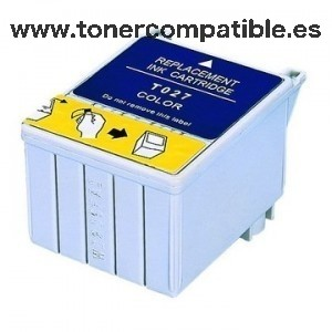 Tinta compatible EPSON T027 Color