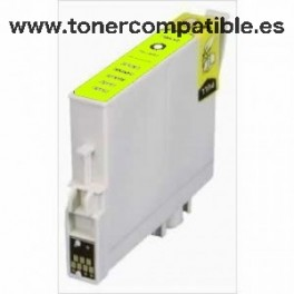 Epson T0444 amarillo Tinta compatible C13T04444010
