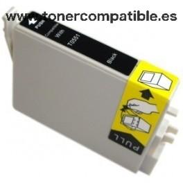 Epson T0551 negro Tinta compatible C13T05514010