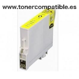 Epson T0554 amarillo Tinta compatible C13T05544010