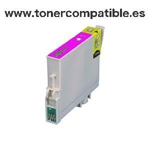 Tinta compatible EPSON T0613 magenta