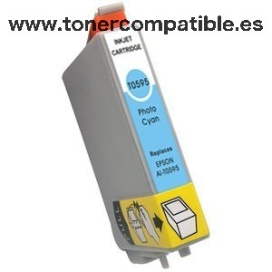 Epson T0595 light cyan Tinta compatible C13T05954010