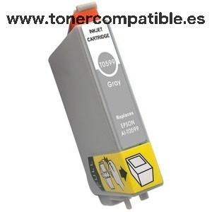 Tinta compatible Epson T0599 - Tonercompatible.es
