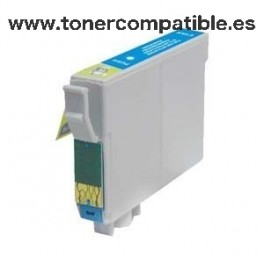 Tinta compatible Epson T0802 Cyan