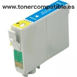 Tinta compatible Epson T0792 Cyan
