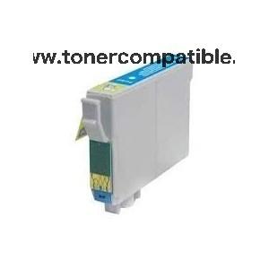 Tinta compatible Epson T0332 Cyan