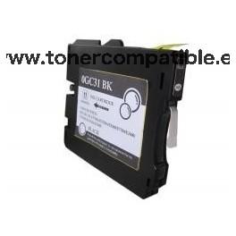 Tinta compatible Ricoh GC31 Negro