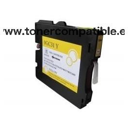 Tinta compatible Ricoh GC31 Amarillo