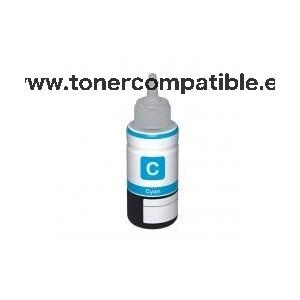 Botella tinta Epson T6642 Cyan / Tinta Epson C13T66424A / Tinta compatible