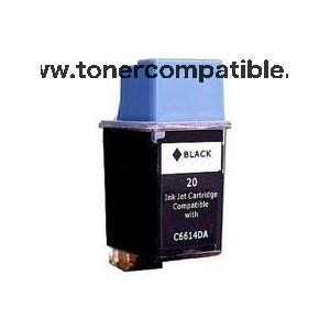 Cartucho de tinta compatible HP 20 / Tinta compatible barata