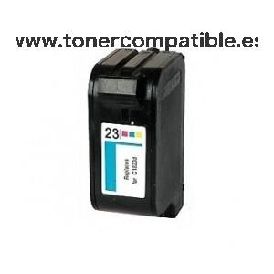 Cartucho de tinta HP 23 - Color - 42 ML