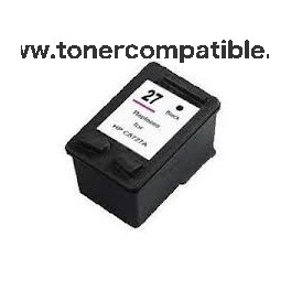 Tinta compatible HP 27 Negro