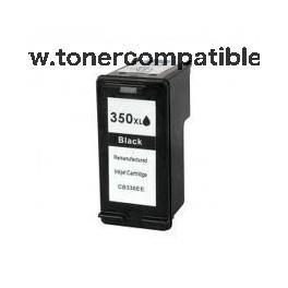 Tinta compatible HP 350XL Negro