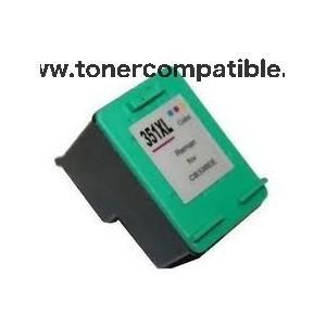 Cartuchos de tintas compatibles HP 351XL / Tinta compatible barata HP 351 XL
